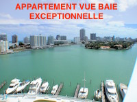 appartement vue baie miami beach